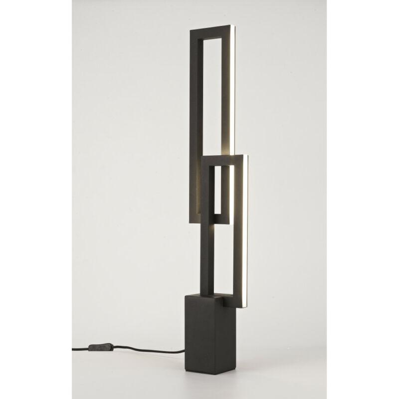 Mantra MURAL 7464 asztali lámpa fekete fekete alumínium alumínium