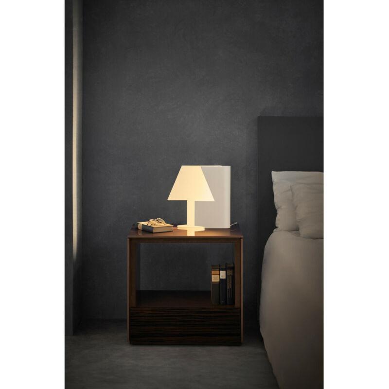 Mantra BOOK 7245 éjjeli asztali lámpa fehér fém