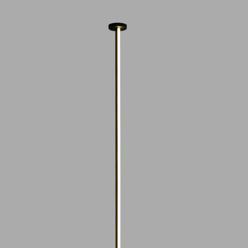 Mantra Vertical 7350 alabástrom fali lámpa fekete fém