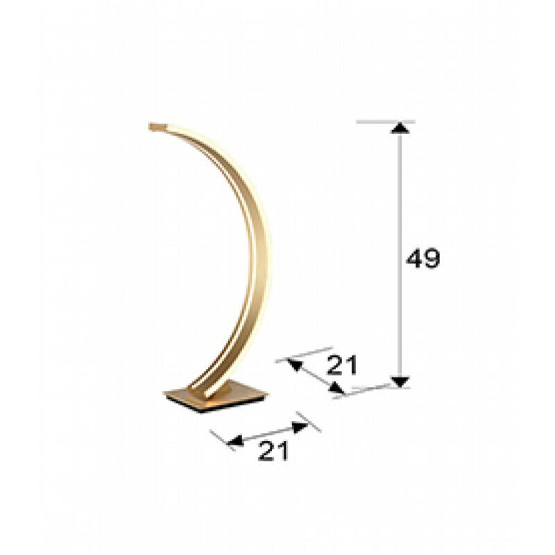 Schuller ARCUS 589316 ledes asztali lámpa  arany
