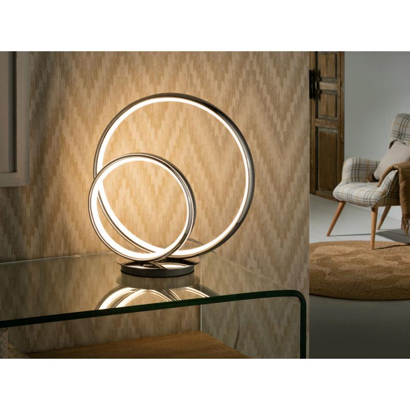 Schuller Omega 614082 éjjeli asztali lámpa króm