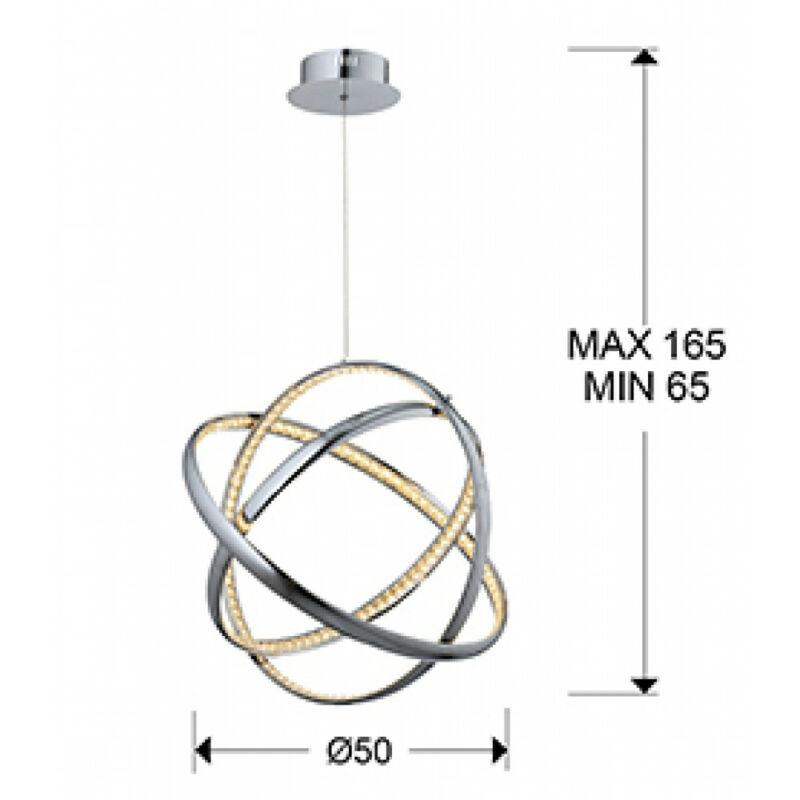 Schuller 813129 modern csillár