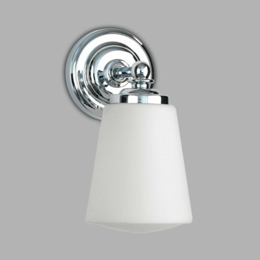 Astro Anton 1106001 Fürdőszoba fali lámpa króm fehér 1 x 40W Max E14/SES 21,5 x 11 x 14,5 cm