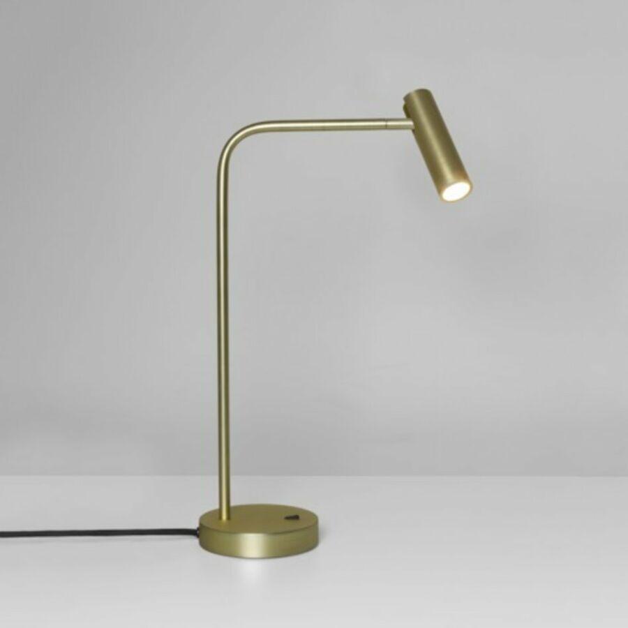 Astro Enna Desk 1058007 Ledes asztali lámpa matt arany fém