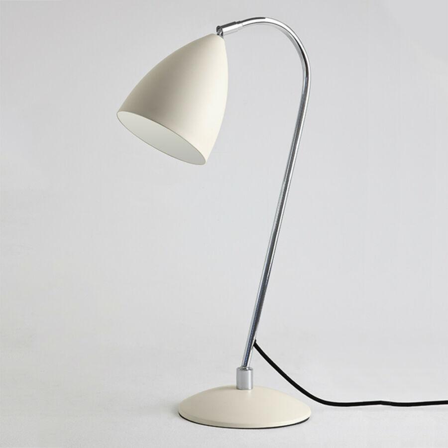 Astro 1223003 Éjjeli asztali lámpa Joel fehér krém fém