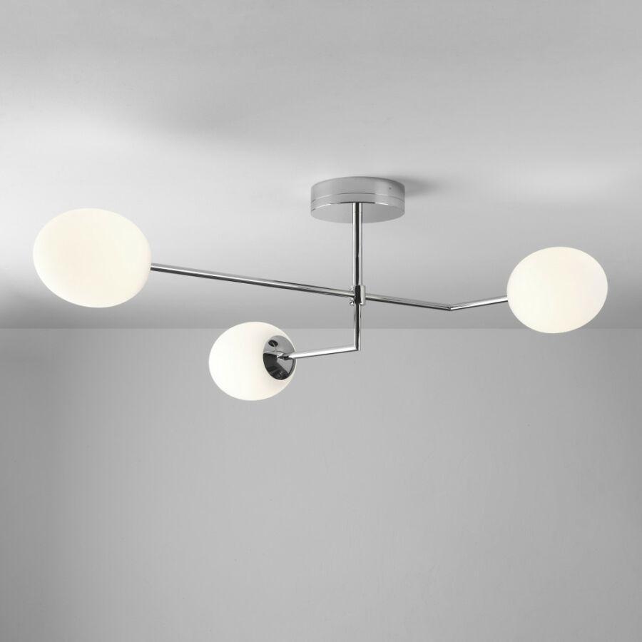 Astro Kiwi 1390005 Fürdőszoba mennyezeti lámpa króm fehér 21.2W LED 31,9 x 63,5 x 83,1 cm
