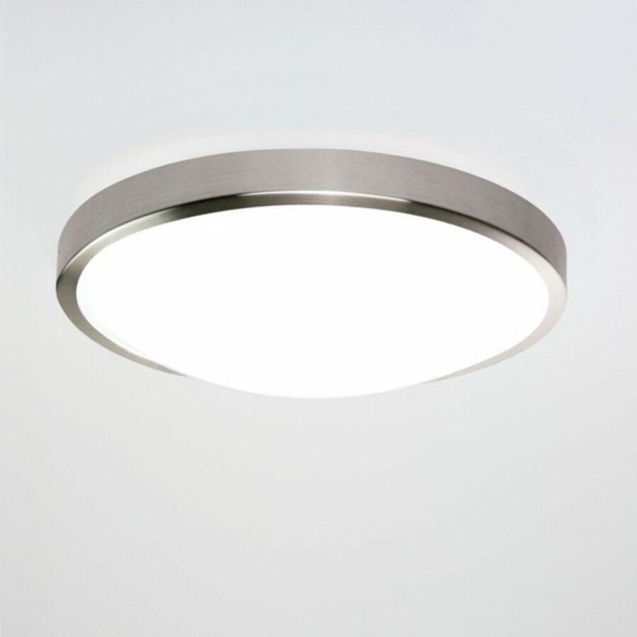 Astro Osaka 1061008 Fürdőszoba mennyezeti lámpa matt nikkel fehér LED - 1 x 22,41W 10,9 x 35 x 35 cm