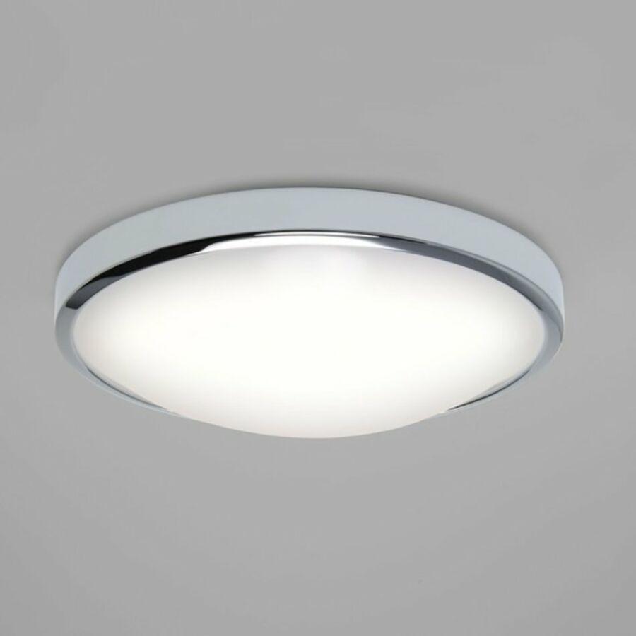 Astro Osaka 1061006 Fürdőszoba mennyezeti lámpa króm fehér 22.9W LED 35x35x10,9cm