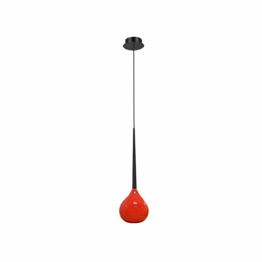Azzardo AGA AZ-1063 Egyágú függeszték piros 1xE14 max. 40W Ø16x17x120cm