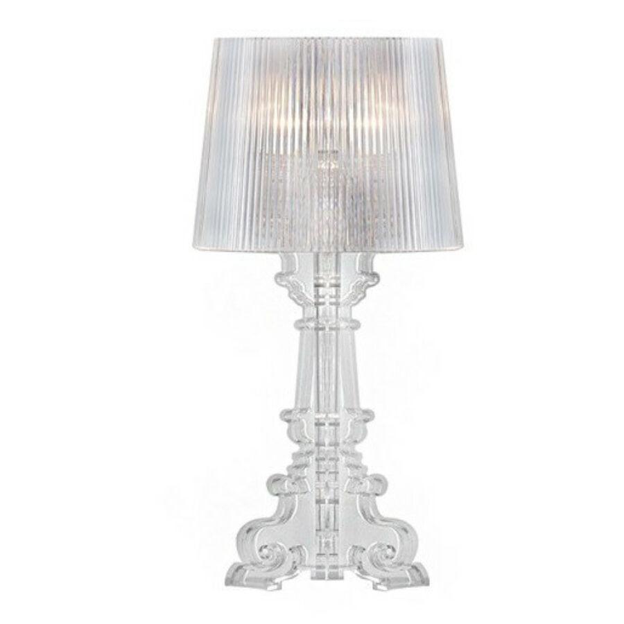 Azzardo Bella AZ-0072 Asztali lámpa átlátszó 1x40W , E14 51x20 cm
