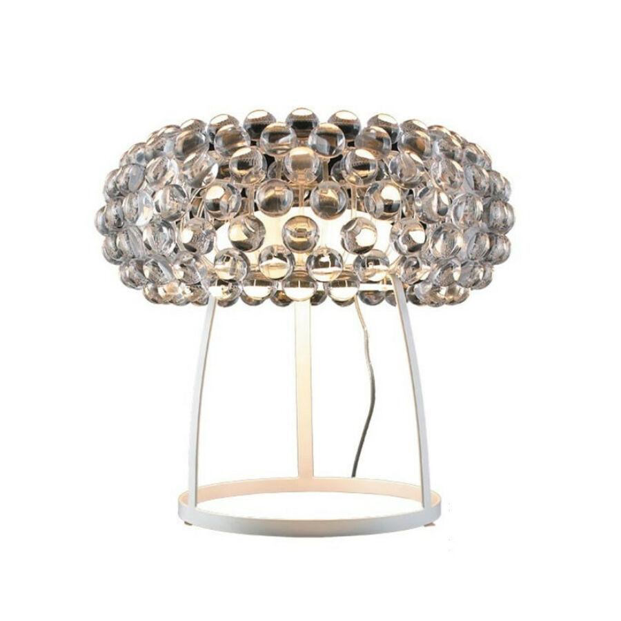 Azzardo ACRYLIO AZ-1099 Asztali lámpa átlátszó 1xR7S 100W Ø37x20x44cm