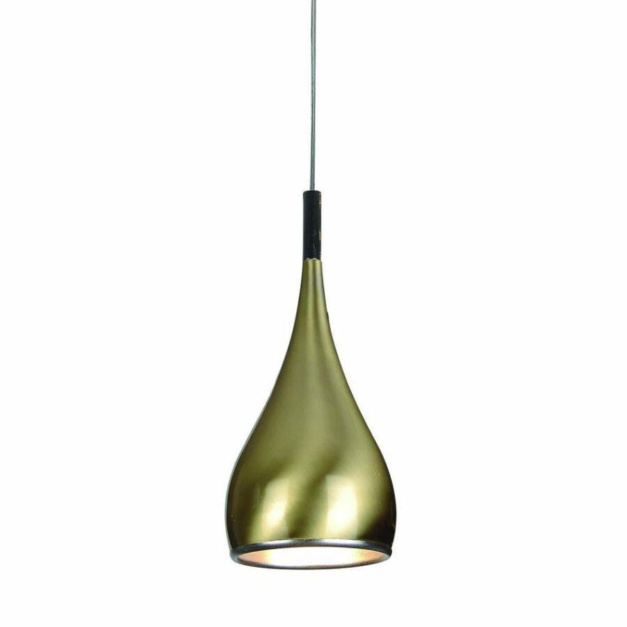 Azzardo SPELL AZ-0286 Egyágú függeszték arany 1x60W , E27 150x16 cm