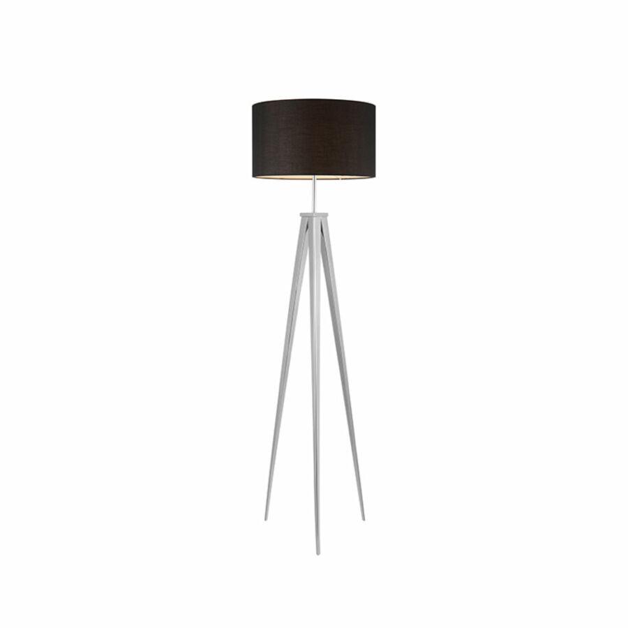 Azzardo Sintra AZ-2410 Állólámpa króm fekete 1 x E27 max. 60W 145 x 40 x 40 cm