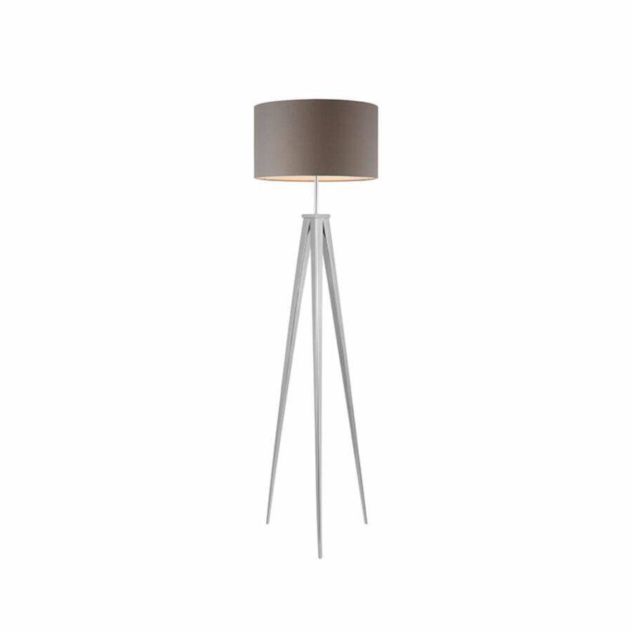Azzardo Sintra AZ-2411 Állólámpa króm szürke 1 x E27 max. 60W 145 x 40 x 40 cm