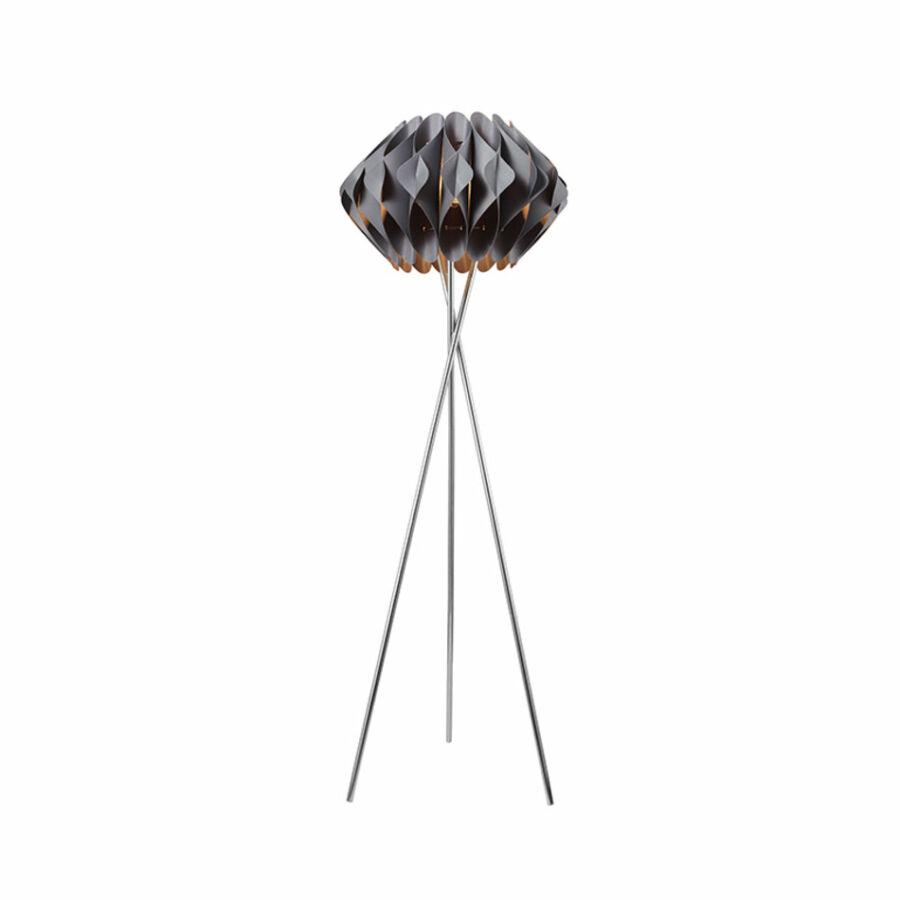 Azzardo AZ-2405 Állólámpa Ruben króm szürke fém műanyag
