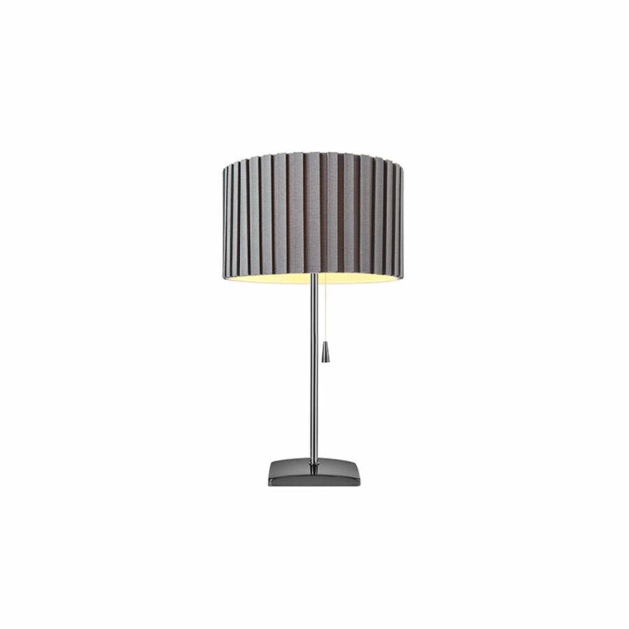 Azzardo Penelopa AZ-2391 Éjjeli asztali lámpa króm szürke 1 x E27 max. 60W 46,5 x 27 x 27 cm