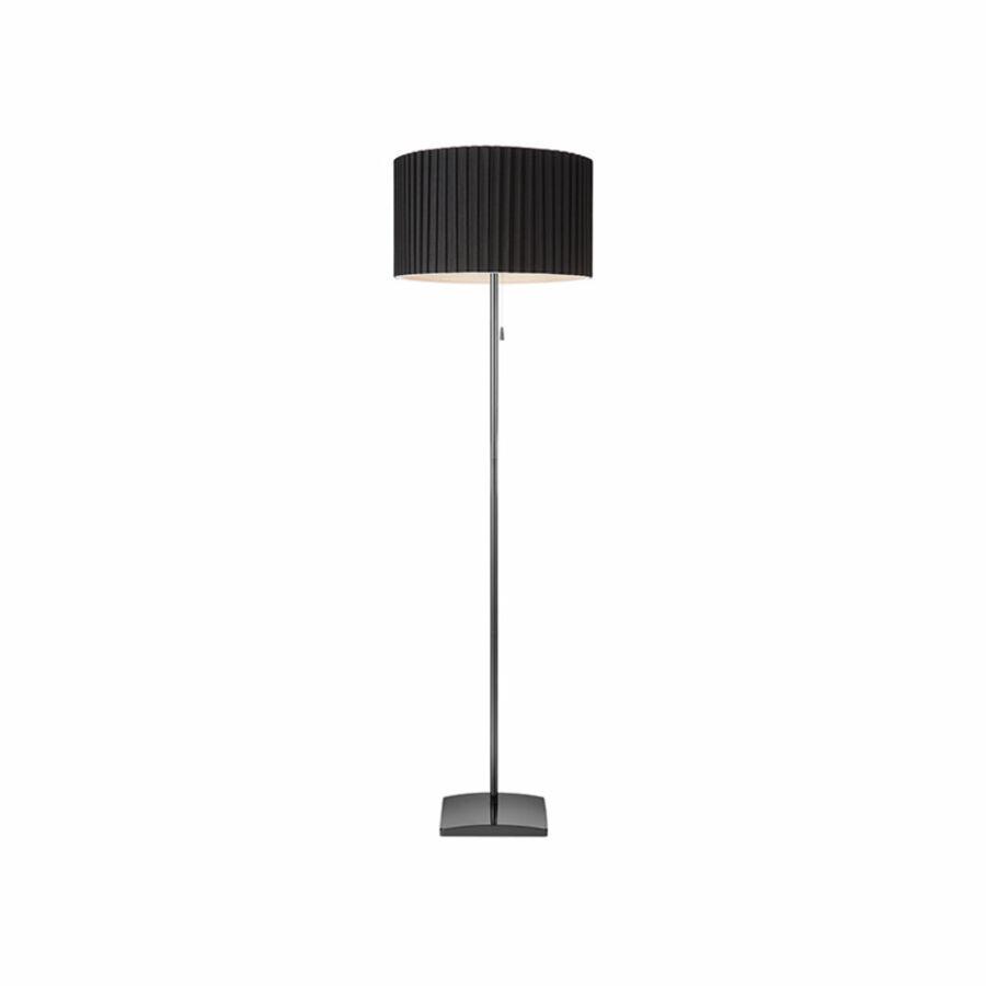 Azzardo Penelopa AZ-2398 Állólámpa króm fekete 1 x E27 max. 60W 155 x 45 x 45 cm
