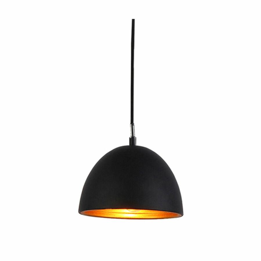 Azzardo Modena AZ-1393 Egyágú függeszték fekete fekete 1 x E27 max. 60W 140 x 18 x 18 cm