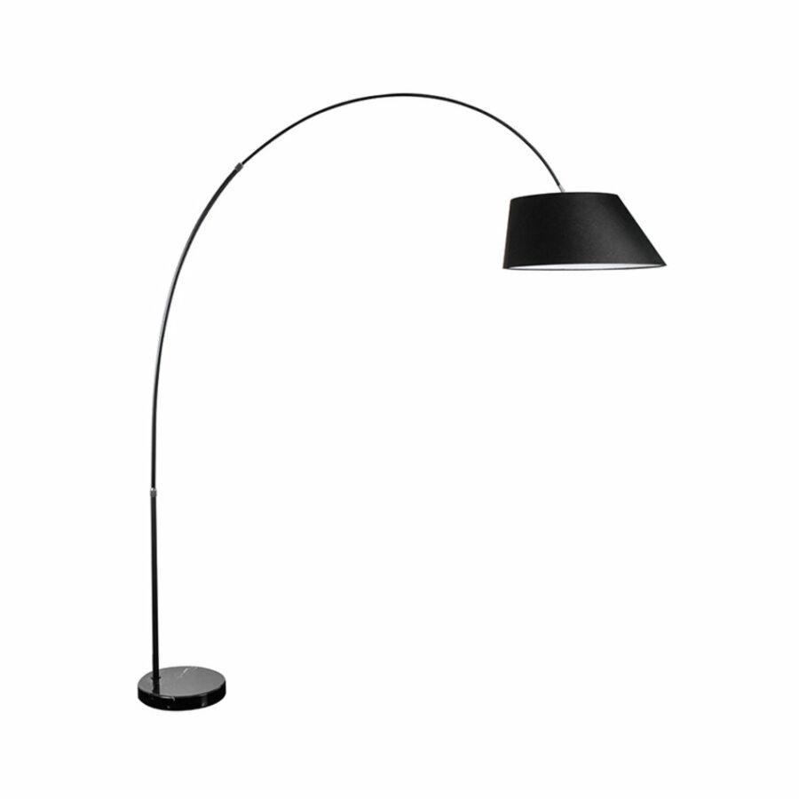 Azzardo Bard AZ-1125 Állólámpa fekete fekete 1 x E27 max. 60W 225 x 200 x 46 cm