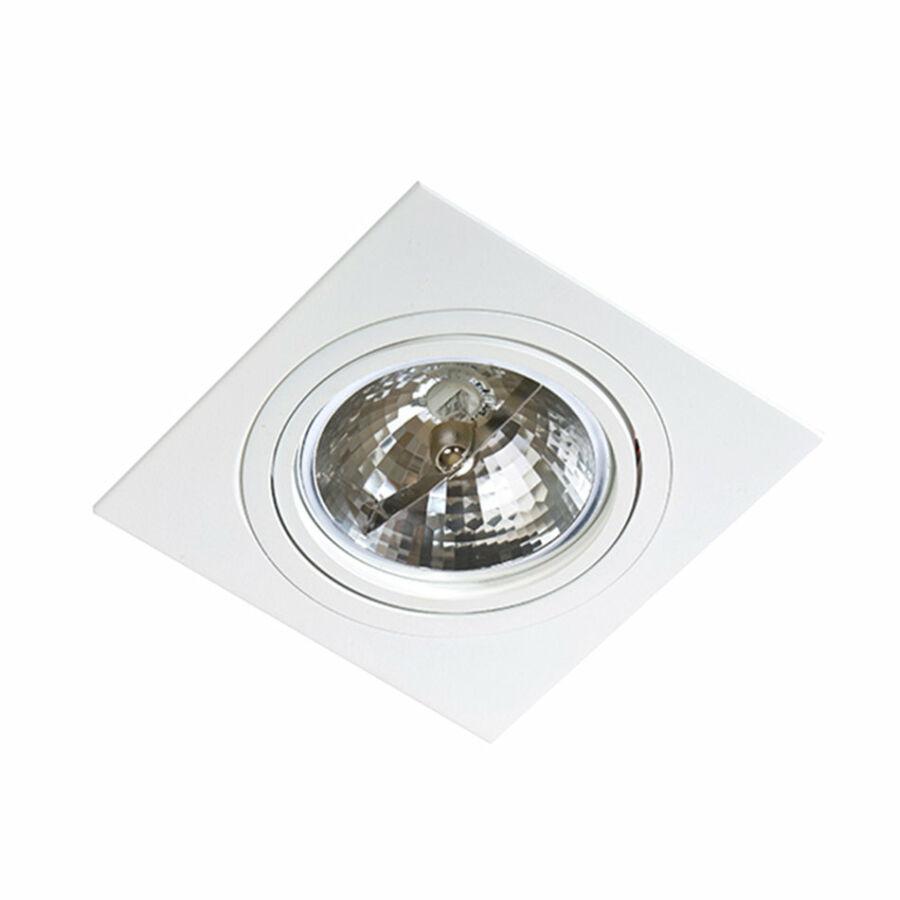 Azzardo Siro AZ-0768 Álmennyezetbe építhető lámpa fehér 1 x G53 max. 50W 2,5 x 17 x 17 cm