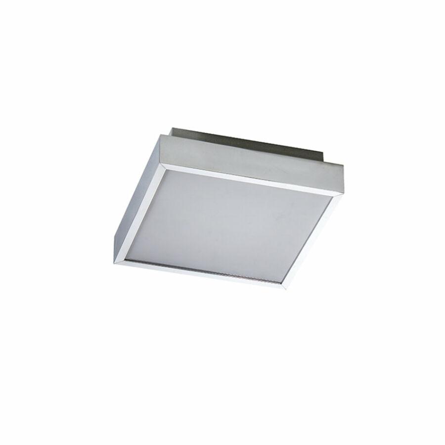 Azzardo Asteria AZ-2478 Fürdőszoba mennyezeti lámpa króm fehér LED - 1 x 18W 8 x 25 x 25 cm