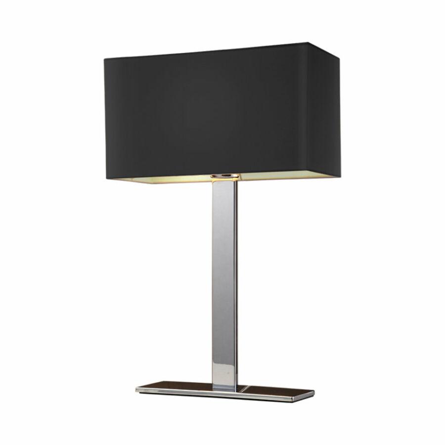 Azzardo Martens AZ-1559 Éjjeli asztali lámpa króm fekete 1 x E27 max. 60W 50 x 32 x 16 cm