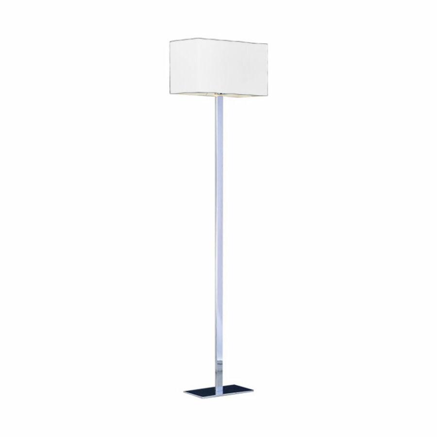 Azzardo Martens AZ-MT2251-WH Állólámpa króm fehér 1 x E27 max. 60W 160 x 40 x 22 cm
