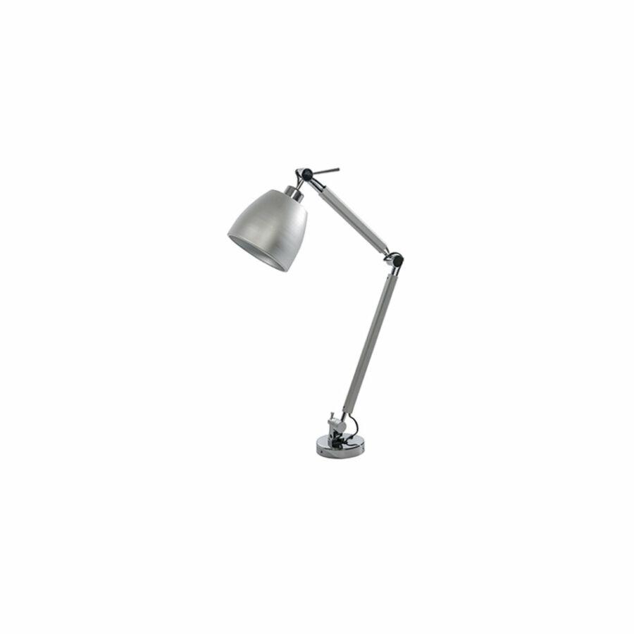 Azzardo Zyta AZ-MT2300-S-AL-AL Íróasztal lámpa alumínium alumínium 1 x E27 max. 60W 79 x 70,5 x 20 cm