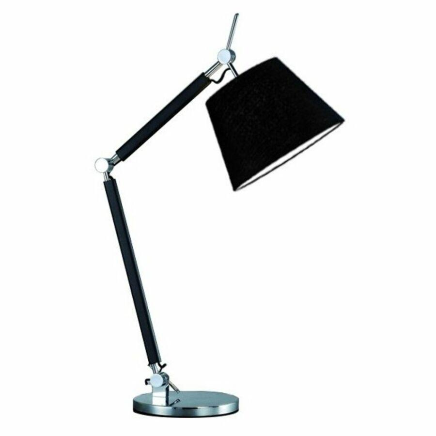 Azzardo Zyta AZ-MT2300-S-BK Éjjeli asztali lámpa fekete fekete 1 x E27 max. 60W 79 x 70,5 x 20 cm