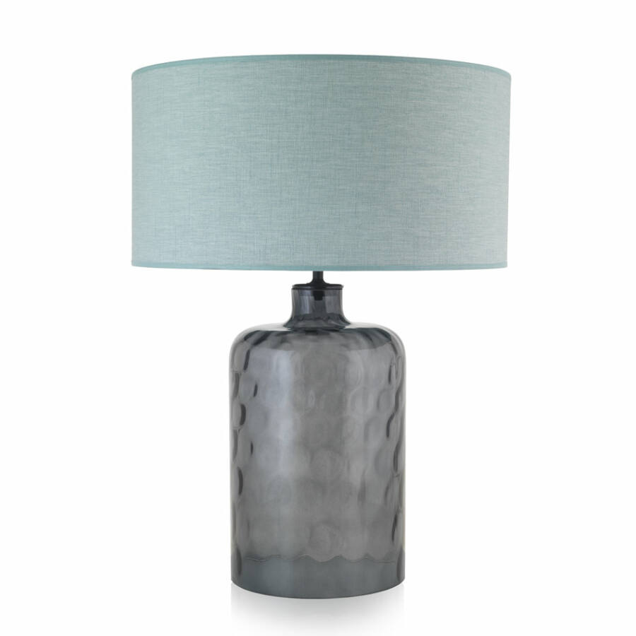 Envy GARON 4925 Asztali lámpa füstszínű zöld 1xE27 max. 60W 40x40x54cm