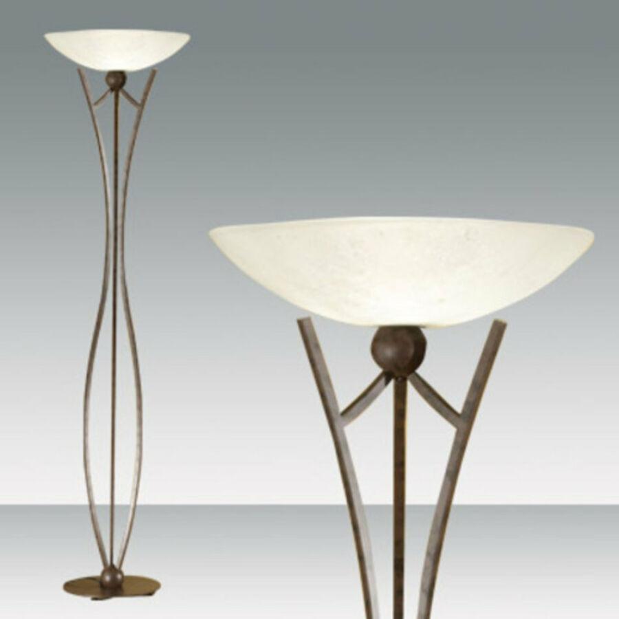 Fabas Luce DEVON 2498-10-171 Állólámpa sötétrozsda 1 x max 250 E27 W 183x50 cm