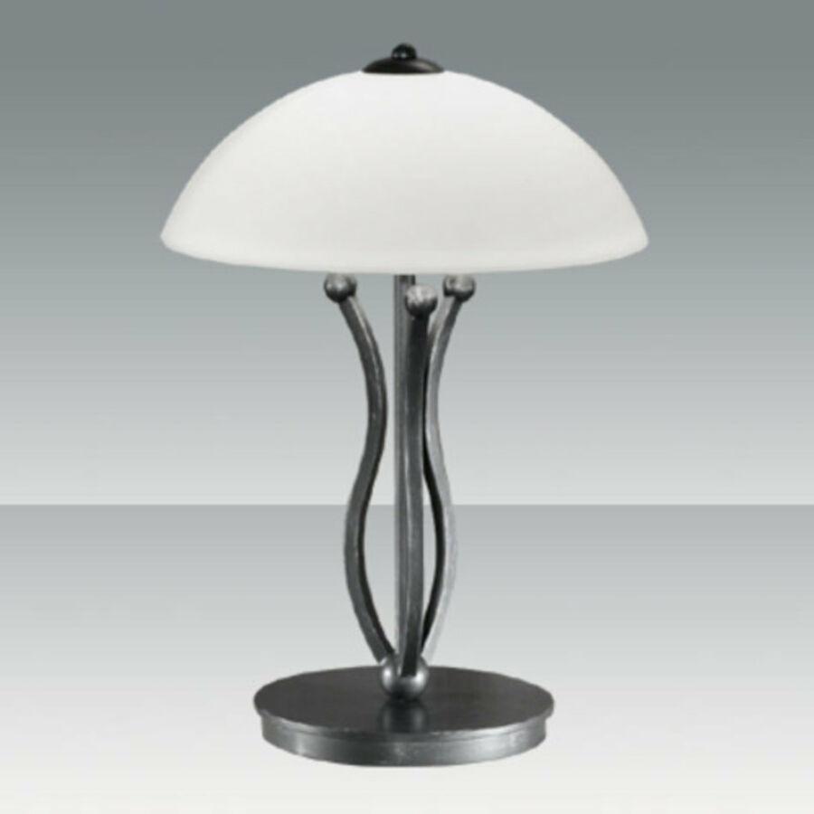 Fabas Luce DEVON 2498-30-261 Asztali lámpa palaszürke 1 x max 75 G9 W 50x30 cm