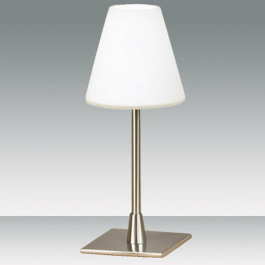 Fabas Luce LUCY 2500-30-178 Érintőkapcsolós asztali lámpa nikkel 1 x max 40 G9 W 25x10 cm
