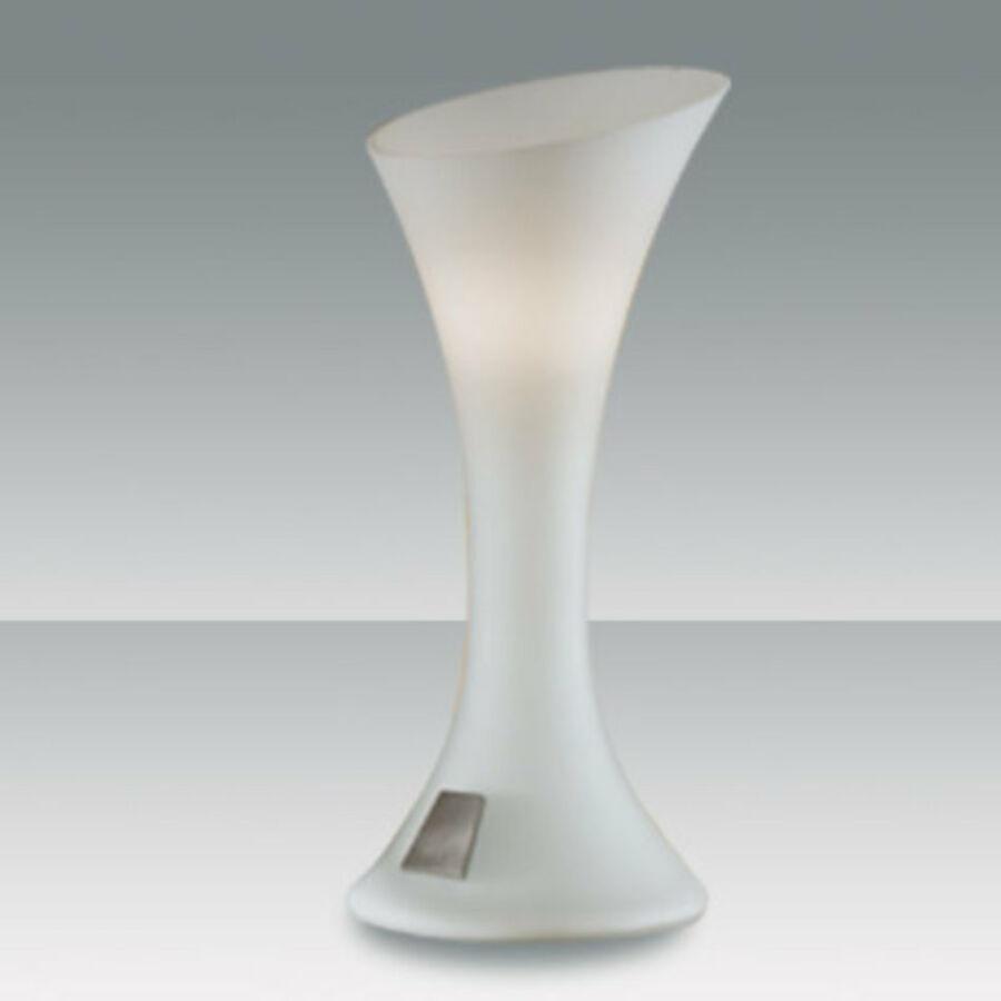 Fabas Luce NIKITA 2586-30-102 Érintőkapcsolós asztali lámpa fehér 1 x max 40 G9 W 25x11 cm