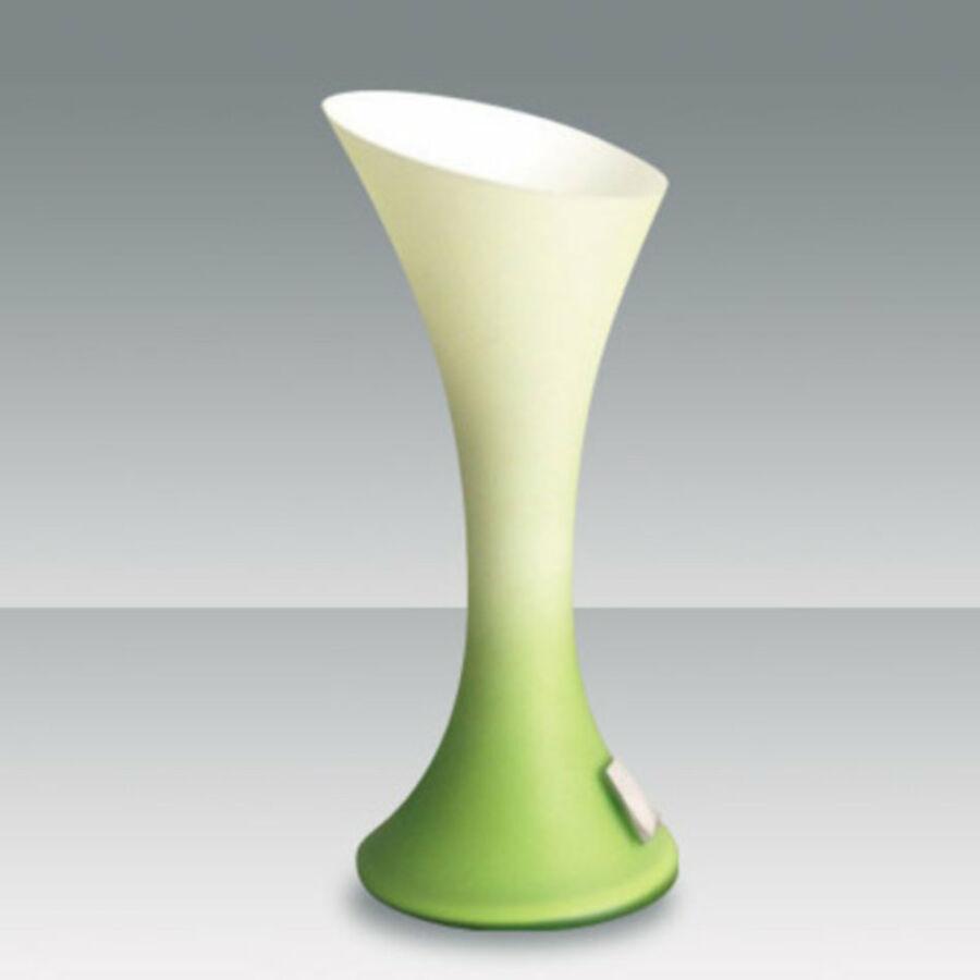 Fabas Luce NIKITA 2586-30-155 Érintőkapcsolós asztali lámpa zöld 1 x max 40 G9 W 25x11 cm