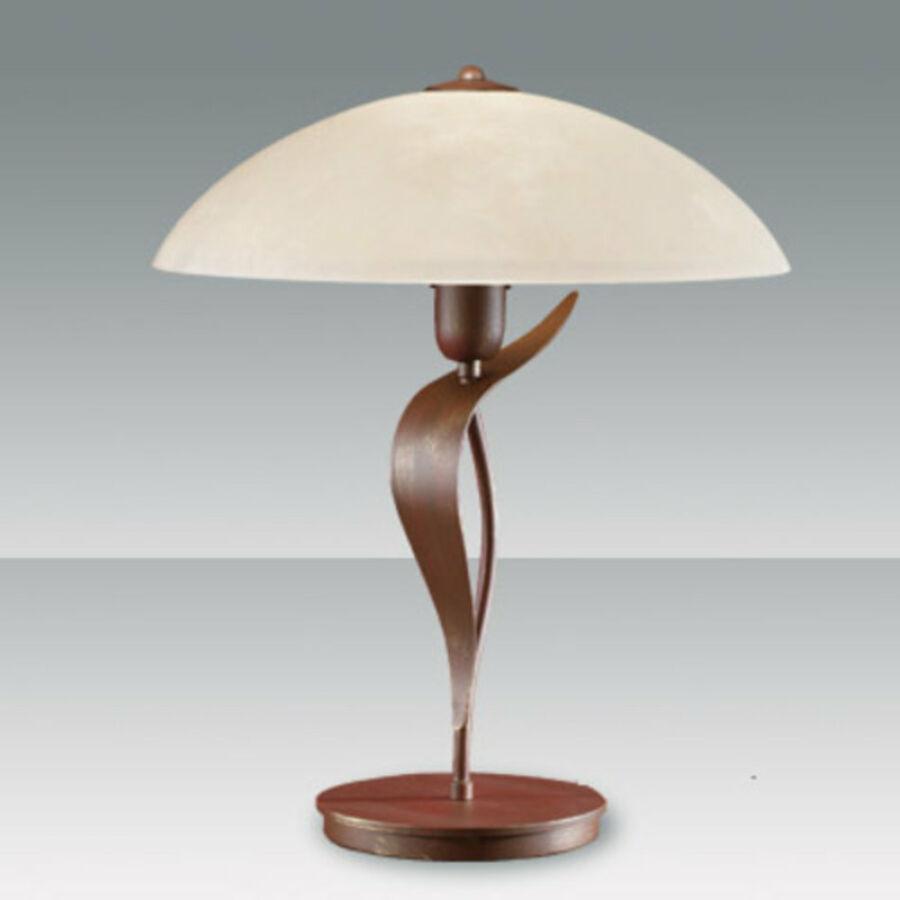 Fabas Luce NADIA 2688-30-252 Asztali lámpa rozsda 1 x max 75 E27 W 50x39 cm
