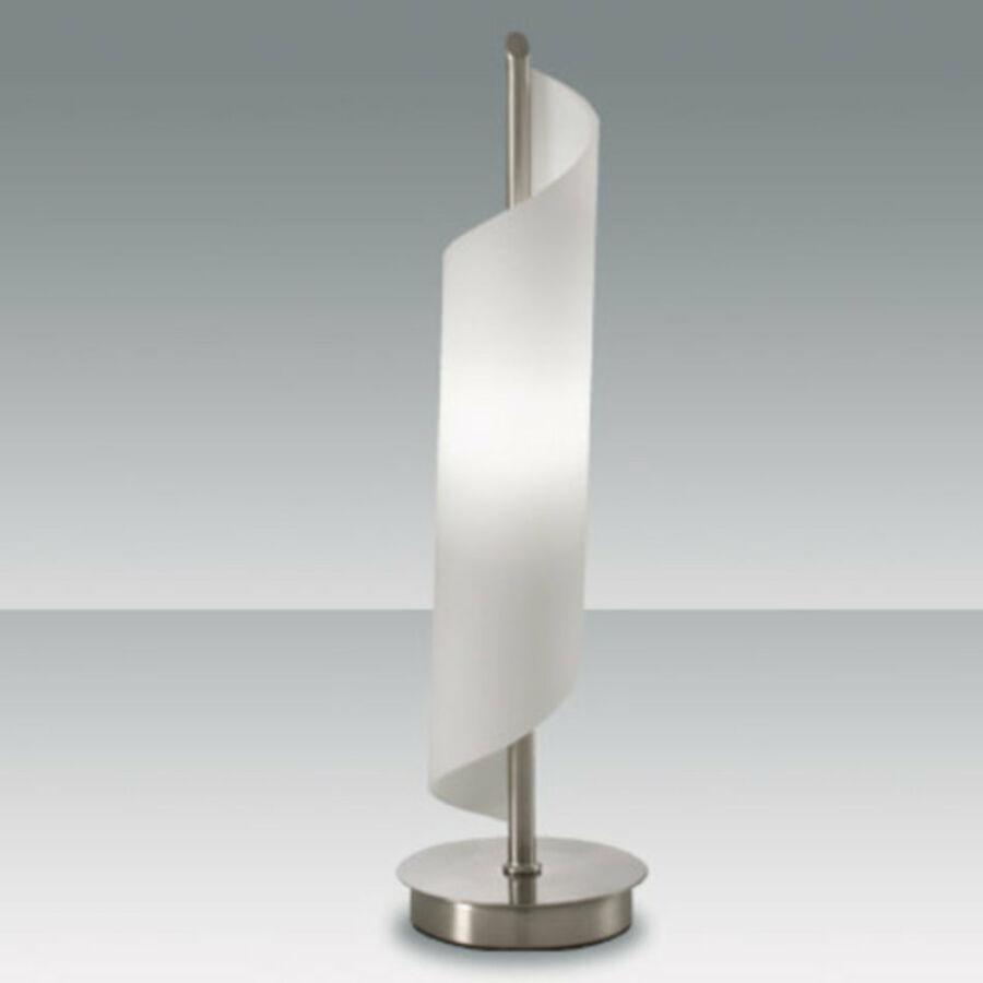 Fabas Luce KERRY 2742-30-178 Asztali lámpa nikkel 1 x max 40 G9 W 32x9 cm