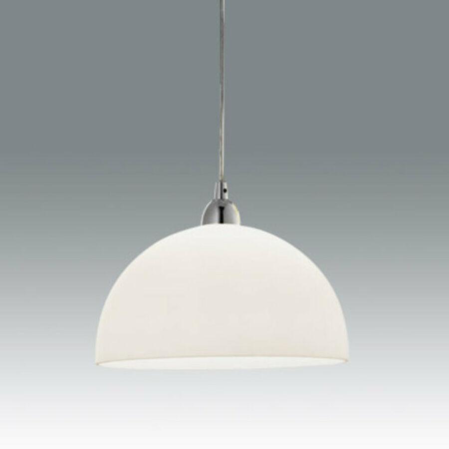 Fabas Luce NICE 2908-44-102 Egyágú függeszték fehér 1 x max 75 E27 W Ø26x14x max. 200cm