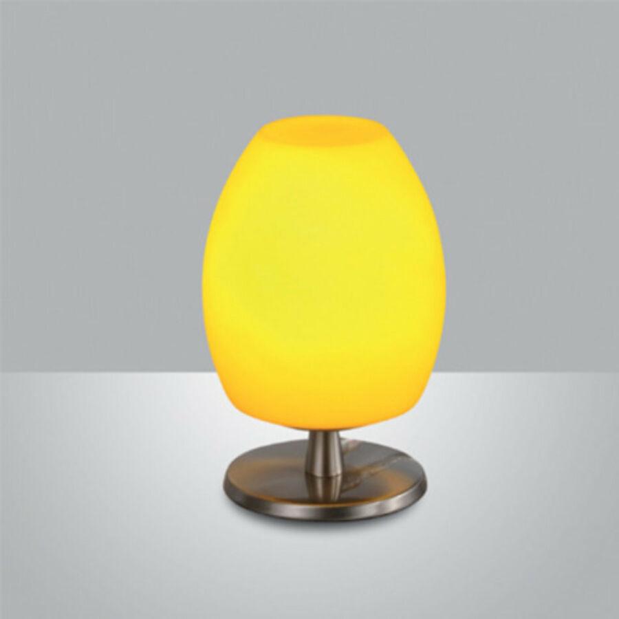 Fabas Luce ROCKFORD 3054-30-190 Asztali lámpa sárga 1 x max 40 G9 W 20xØ12 cm