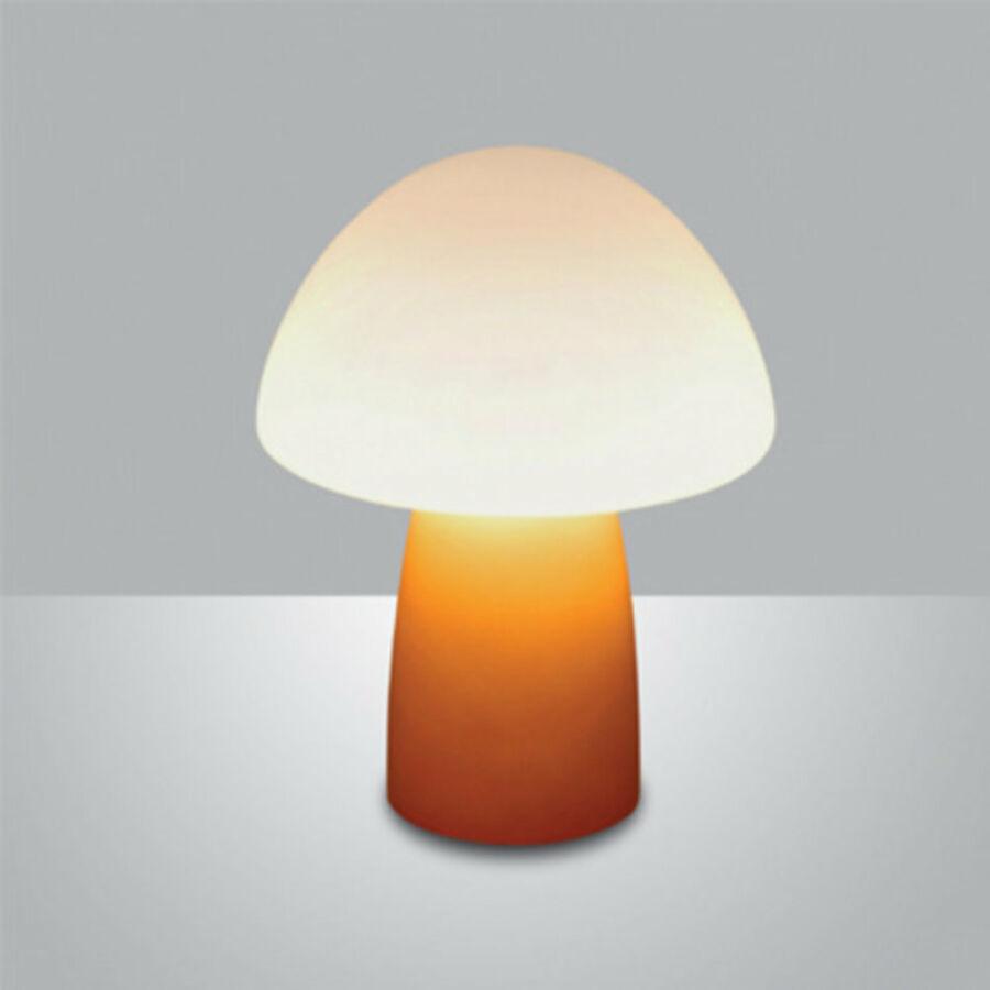 Fabas Luce SCOTT 3075-30-125 Asztali lámpa borostyán 1 x max 40 G9 W 21xØ16 cm
