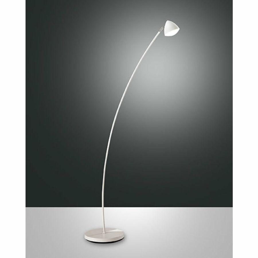 Fabas Luce BIKE 3297-11-102 Állólámpa fehér LED 8W 140xØ25cm