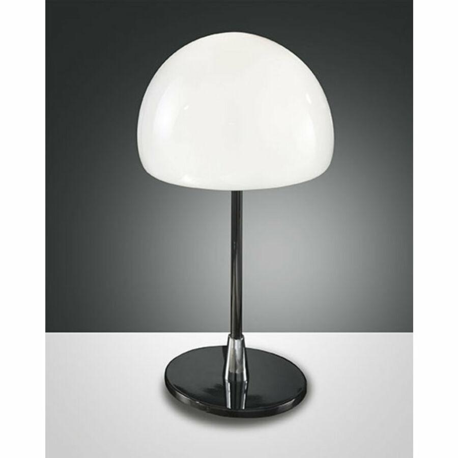 Fabas Luce GAIA 2561-30-172 Asztali lámpa króm 1 x max 40 G9 W 26x25 cm