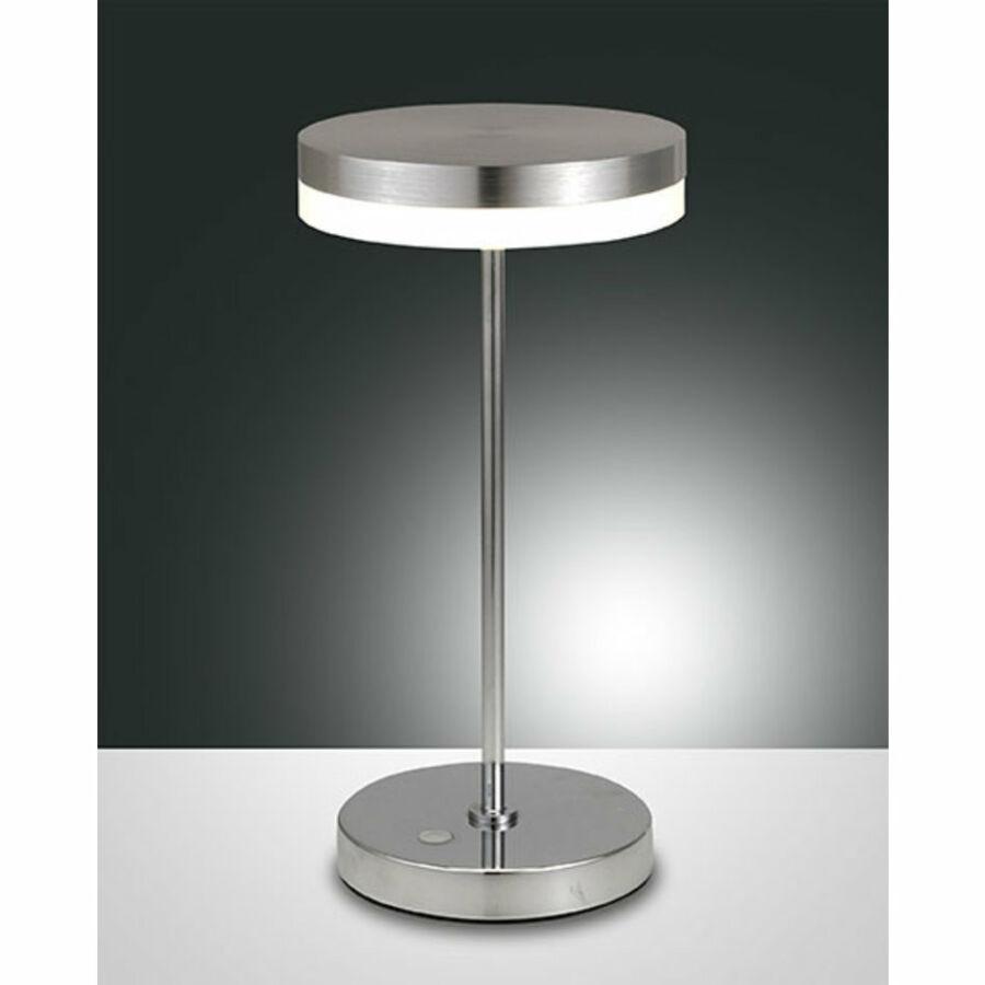 Fabas Luce MABEL 3296-35-212 Asztali lámpa alumínium LED 8W Ø15x31cm