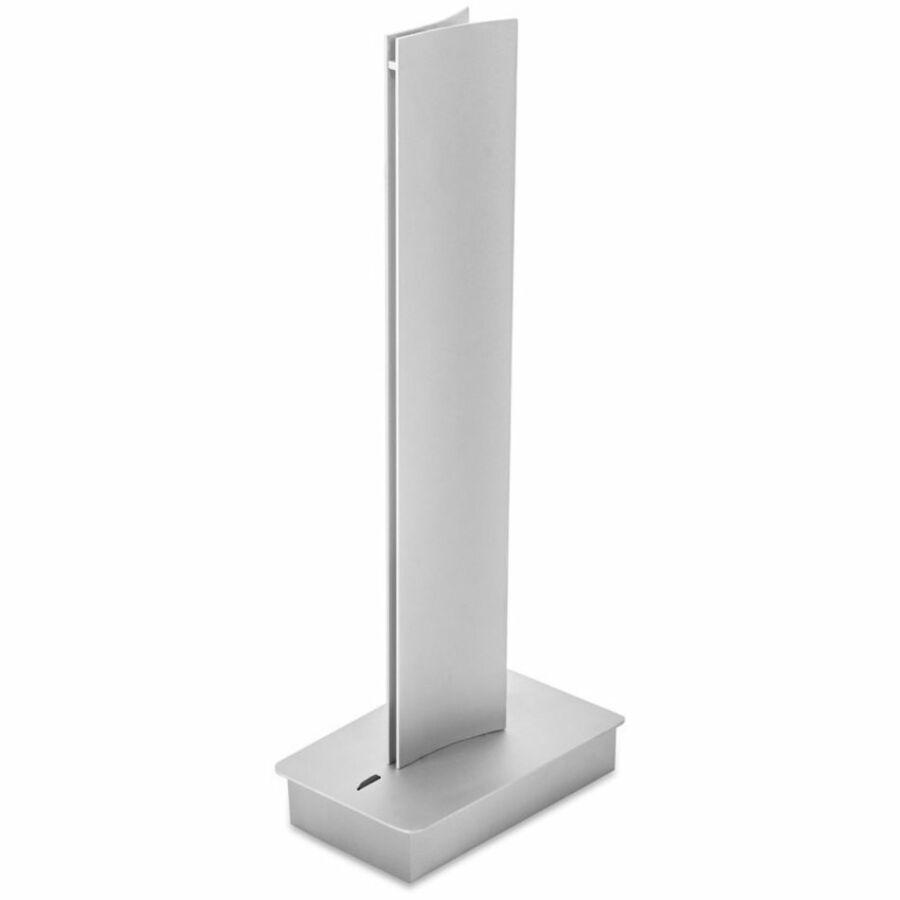 Leds-C4 BRAVO 10-4925-34-M1 Asztali lámpa szürke LED 14W 32x9,5x17,5cm