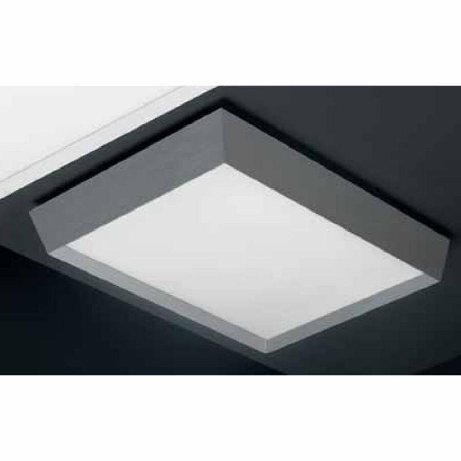 Leds-C4 PRISMA 15-4691-S2-B4 Mennyezeti lámpa fényes alumínium opál 2 x 2G11 55W