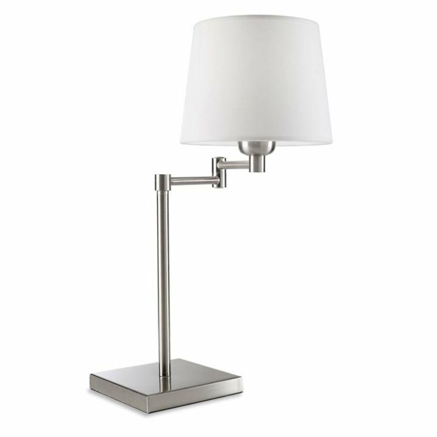 Leds-C4 DOVER 174-NS Asztali lámpa szatinált nikkel 1xE27 max. 60 W 20x47,5x48,3cm