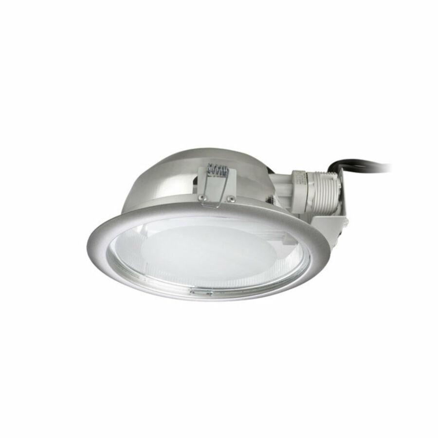Leds-C4 ECO DN-1408-N3-00 Álmennyezetbe építhető lámpa szürke 2xG24q-3 max.26W Ø23,3x10cm
