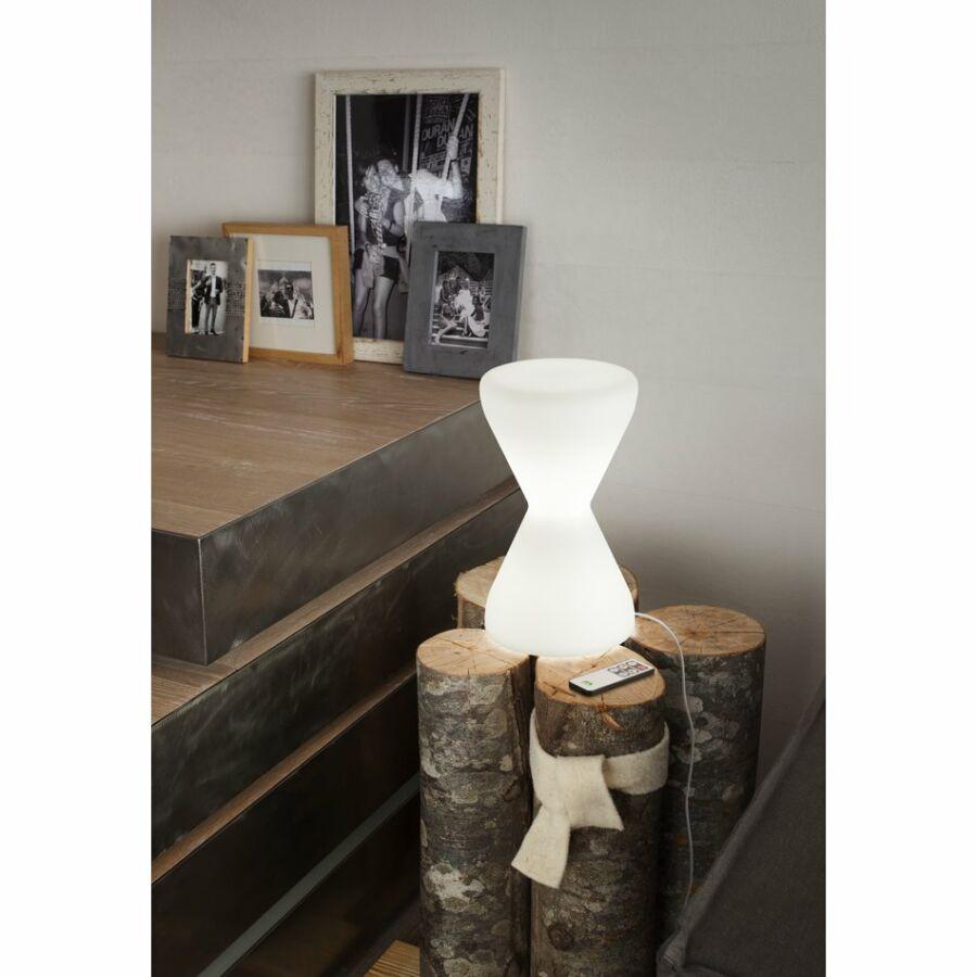 LineaLight 10005 Asztali lámpa CLESSIDRA LED átlátszó műanyag