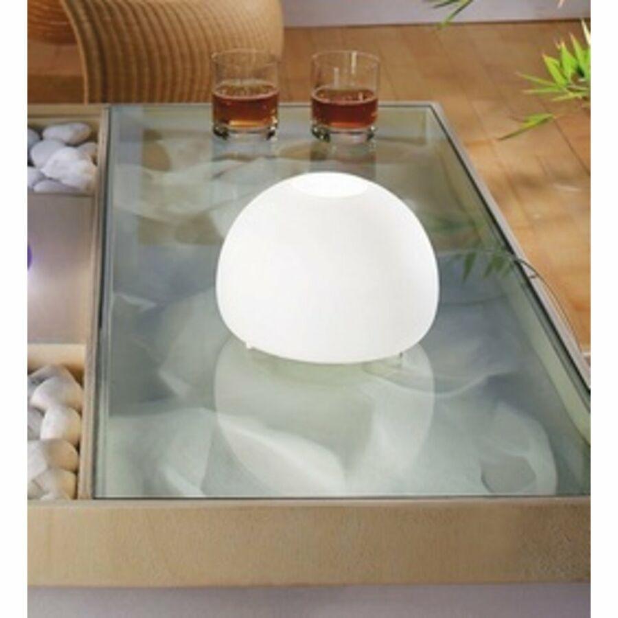 LineaLight BLOG LED 351B601 Asztali lámpa fehér 1xE14 LED 4W Ø20x14 cm