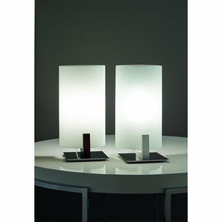 LineaLight WOOD 4892 Asztali lámpa wenge 1xE14 max. 42 W 15x12x28cm